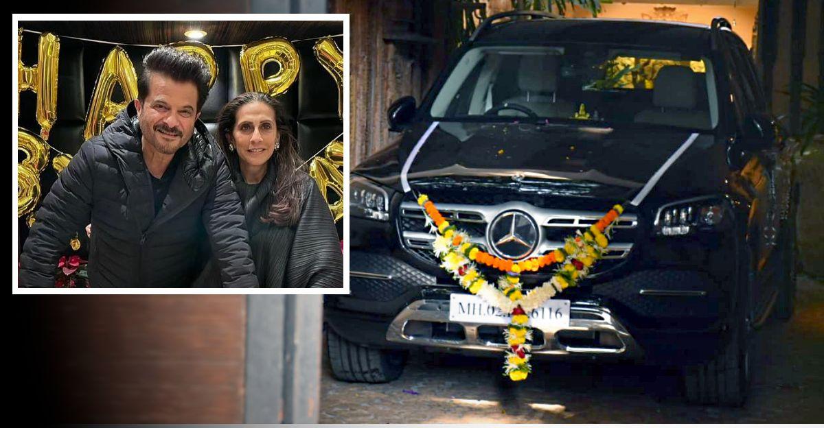 Anil Kapoor ने पत्नी को उनके जन्मदिन पर 1 करोड़ की Mercedes-बेंज GLS SUV उपहार दिया