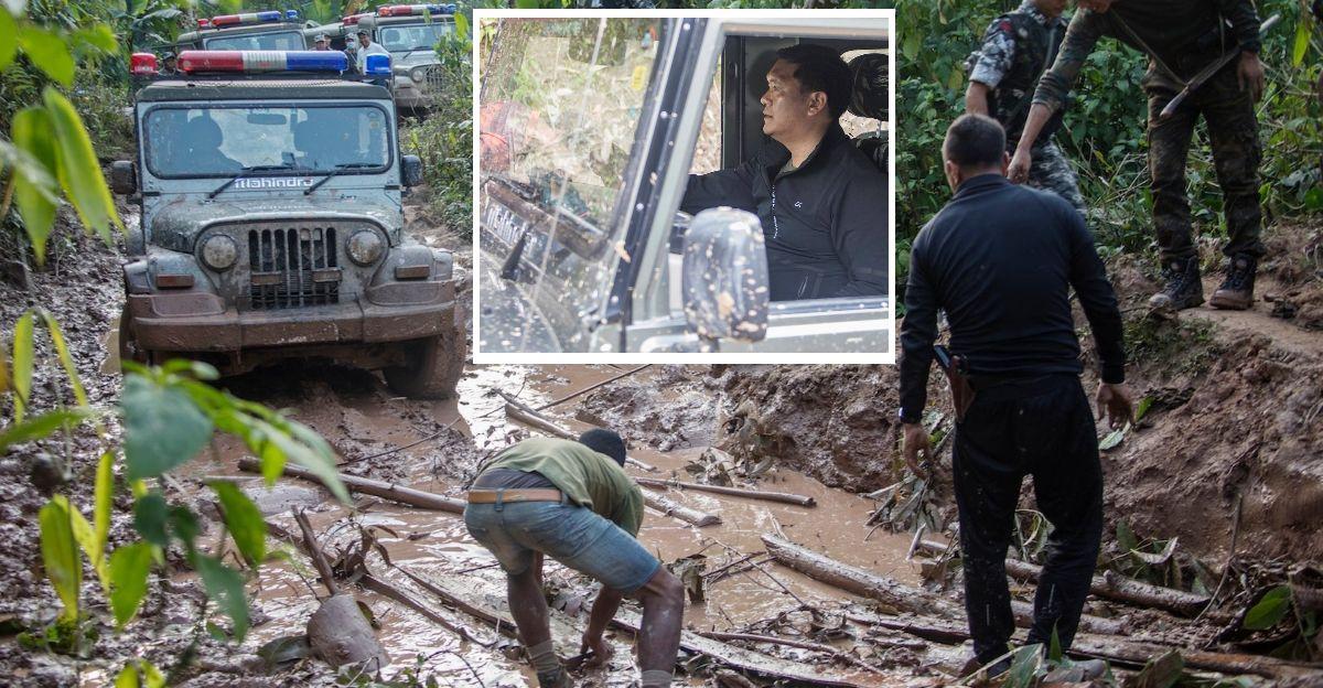 अरुणाचल के CM पेमा खांडू ने Roadworks का निरीक्षण करने के लिए Mahindra Thar ऑफ-रोड ड्राइव किया