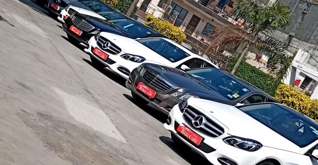 अच्छी तरह से मैनटैनेड Audi, BMW और Mercedes-Benz लक्जरी कारें आकर्षक कीमतों पर