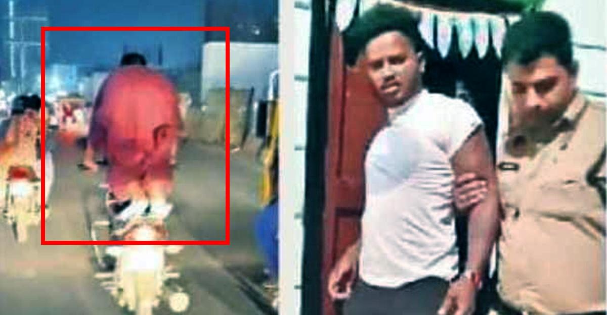 Biker का स्टंट करते हुए वीडियो हुआ वायरल, गिरफ्तार