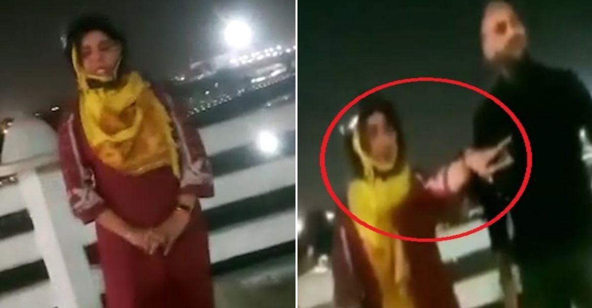 महिला पार्किंग चालान देने के बाद रोने लगी, पुलिस ने चालान रद्द किया