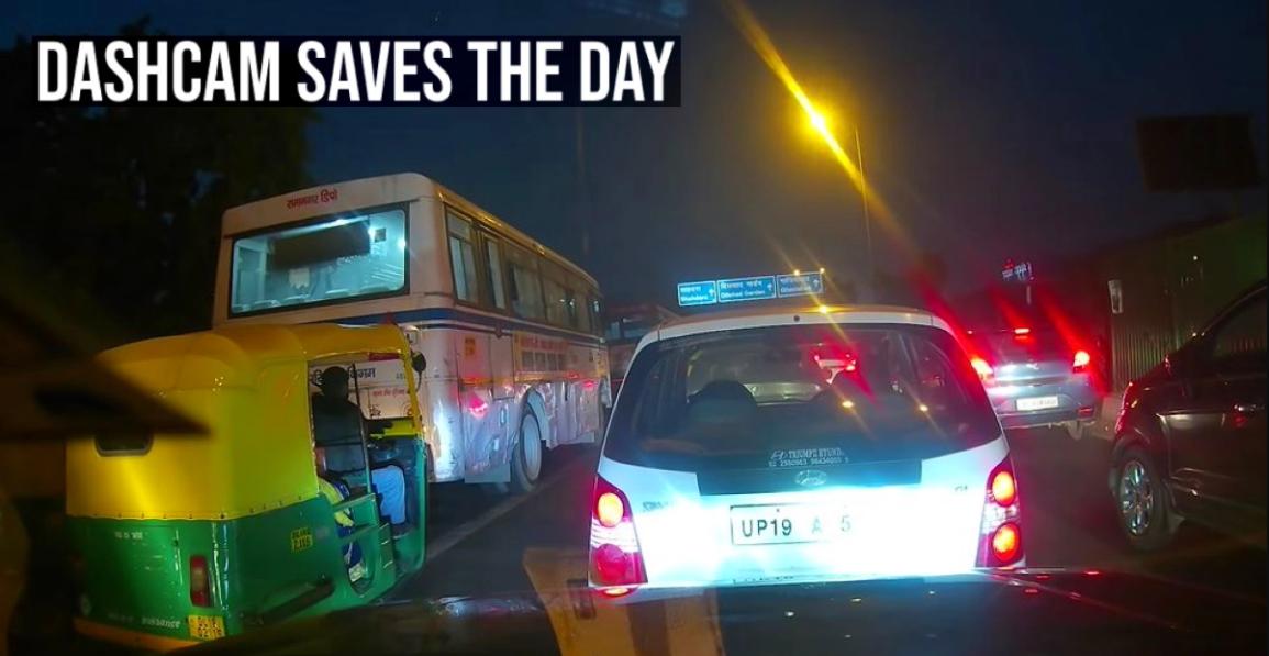Dashcam चालक को 5,000 रुपये के चालान से बचाता है