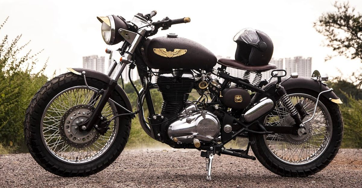 Eimor Customs एक Royal Enfield Classic मोटरसाइकिल को एक सुंदर Bobber में संशोधित किया
