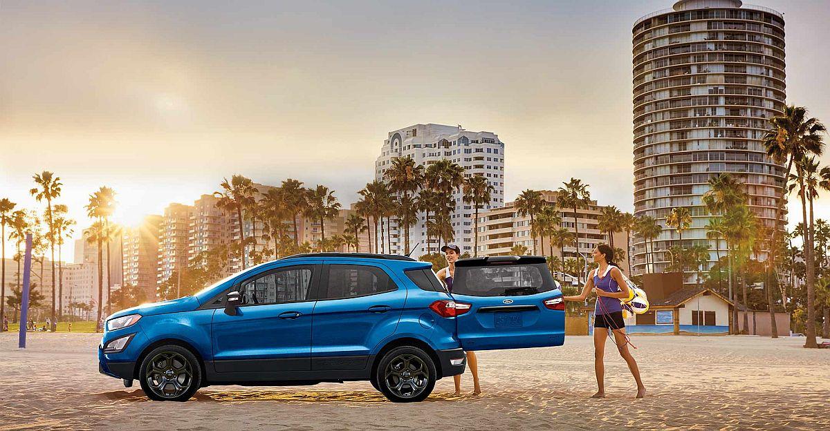 Ford Ecosport SE को कल लॉन्च करने के लिए: विवरण