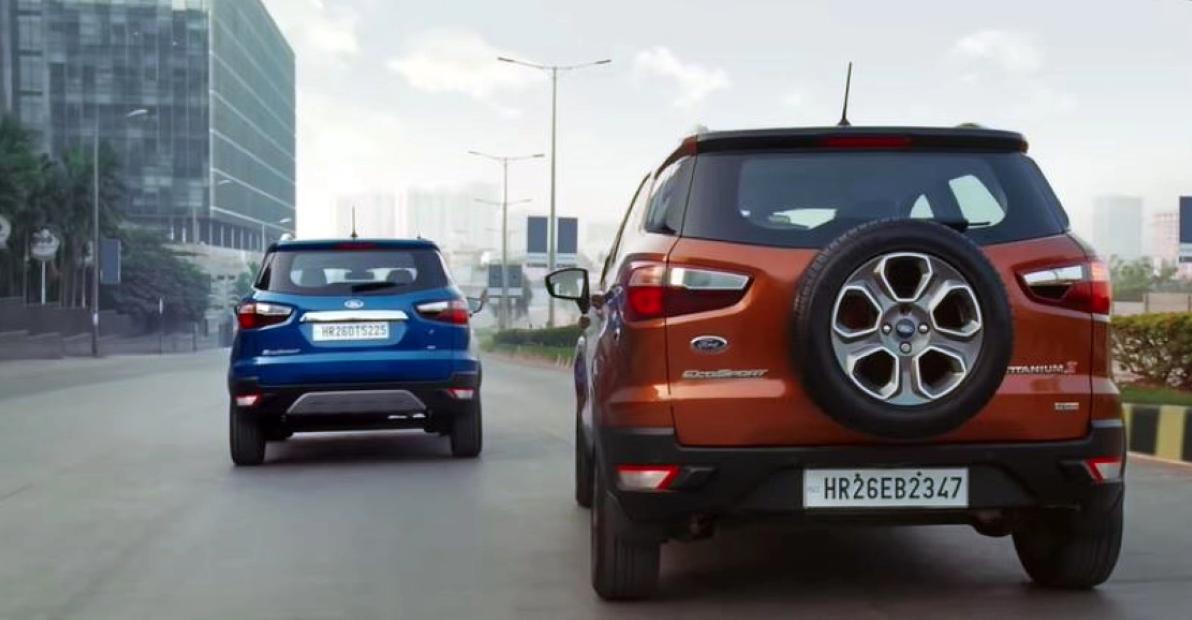 Ford India ने EcoSport SE और EcoSport S के लिए नया TVC जारी किया