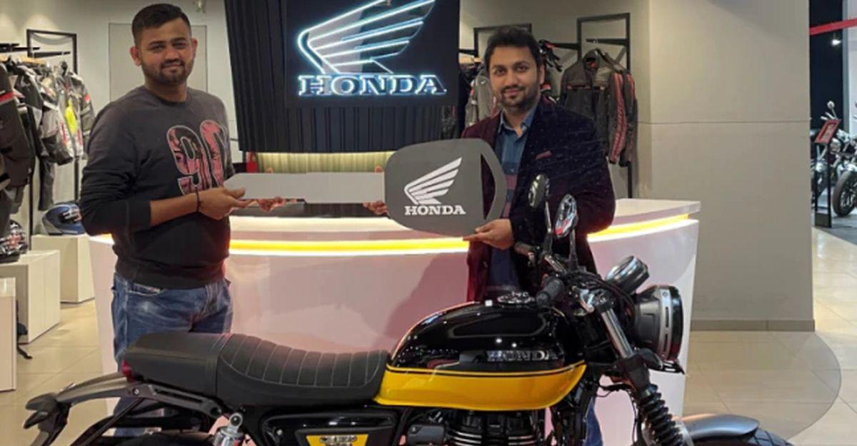 Honda 2-Wheelers भारत में 2021 CB 350 RS की डिलीवरी शुरू की