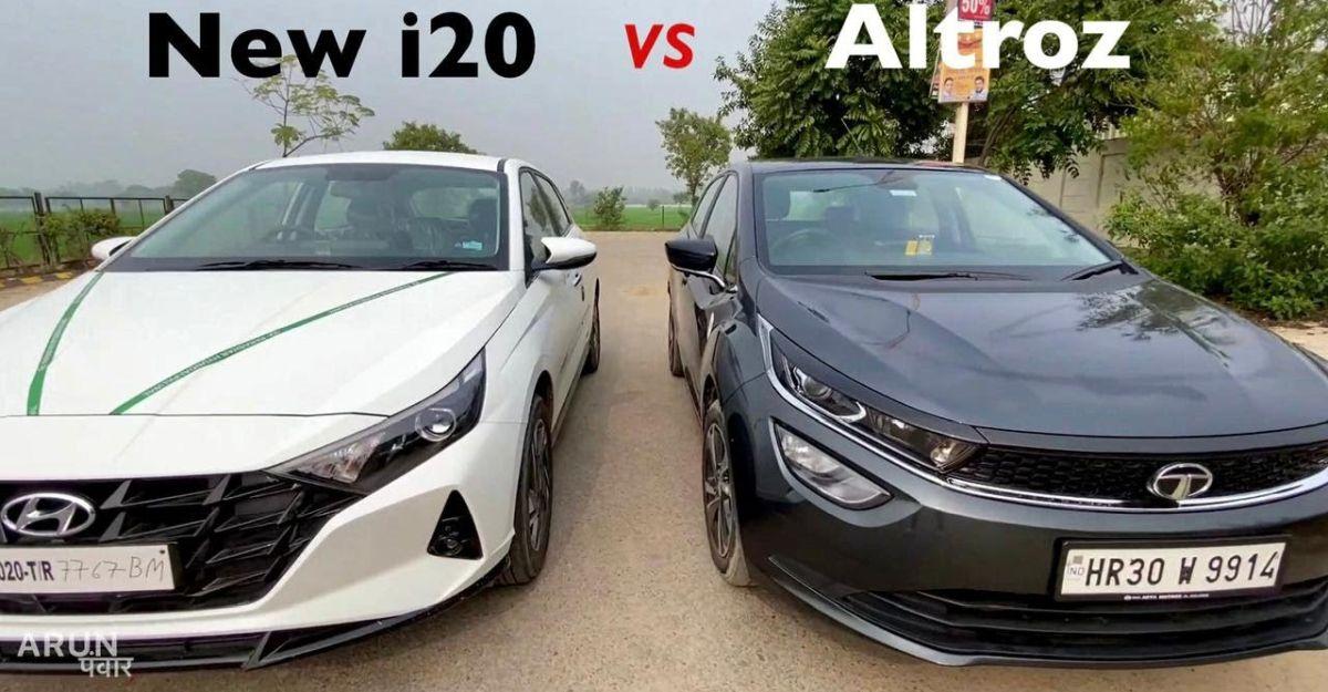 Tata Altroz vs All-New Hyundai i20 में तुलना [वीडियो]