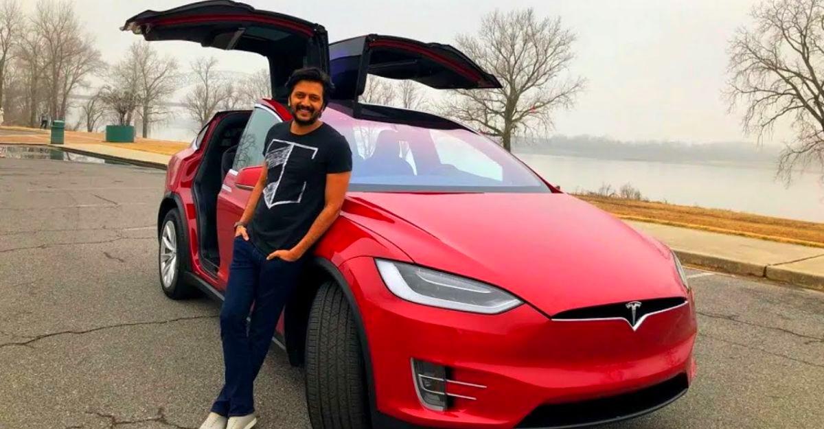 भारत के प्रसिद्ध Tesla मालिक: Mukesh Ambani से लेकर Riteish Deshmukh तक