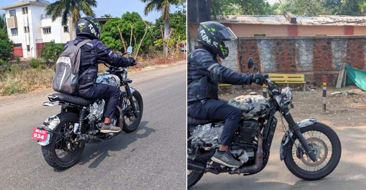 Jawa Scrambler  परिक्षण के दौरान SPIED: एक मिनी Ducati Scrambler जैसा दिखता है