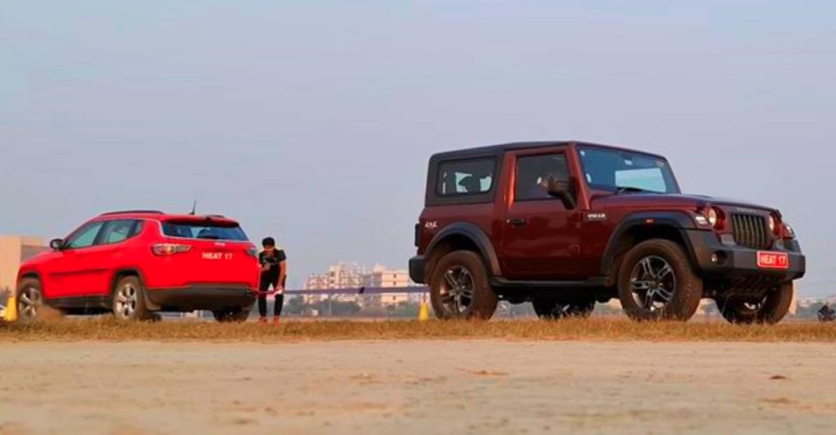 2020 Mahindra Thar vs Jeep Compass एक रस्साकशी में [Video]