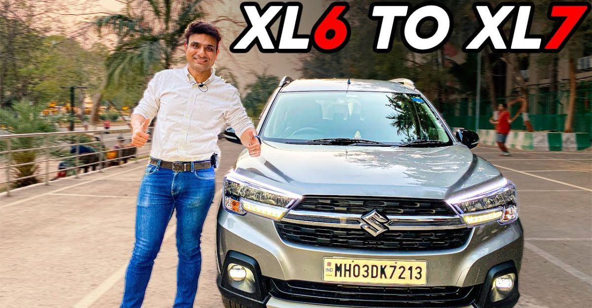 6 सीट Maruti XL6 खूबसूरती से 7-seater MPV में बदल गई