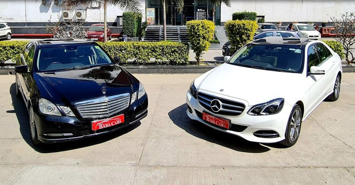 Pre-Owned Mercedes-Benz E-Class लग्जरी सेडान सिर्फ 9.95 लाख रुपये से शुरू