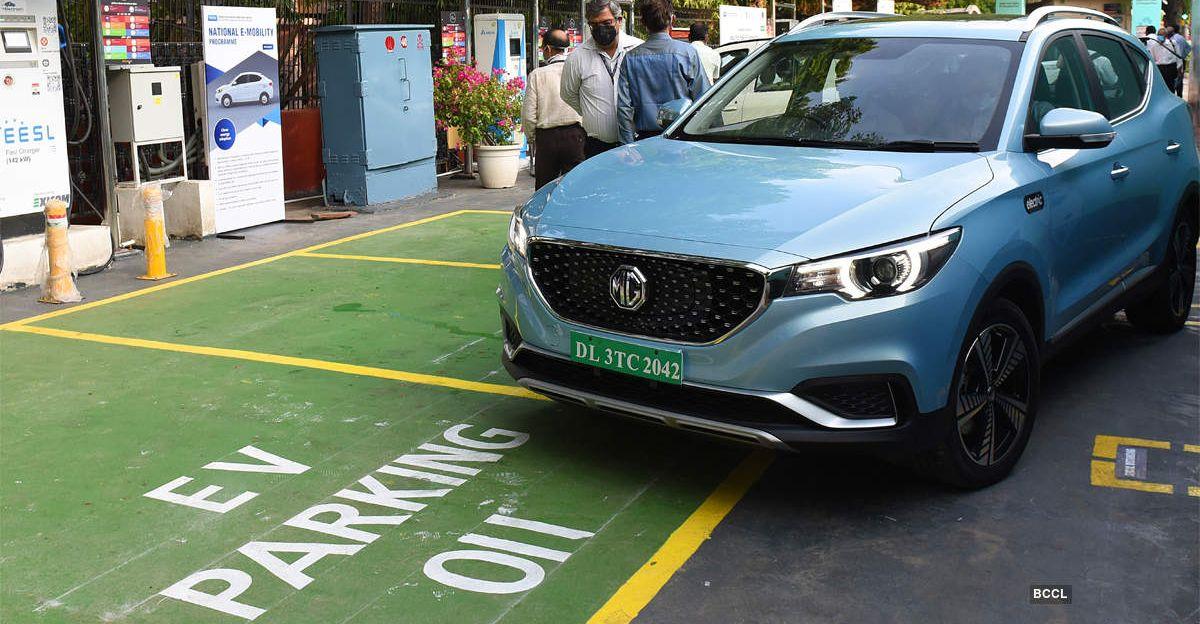 दिल्ली सरकार इलेक्ट्रिक वाहनों के लिए 5% पार्किंग स्थान आरक्षित करने के लिए मॉल और होटल को निर्देशित किया