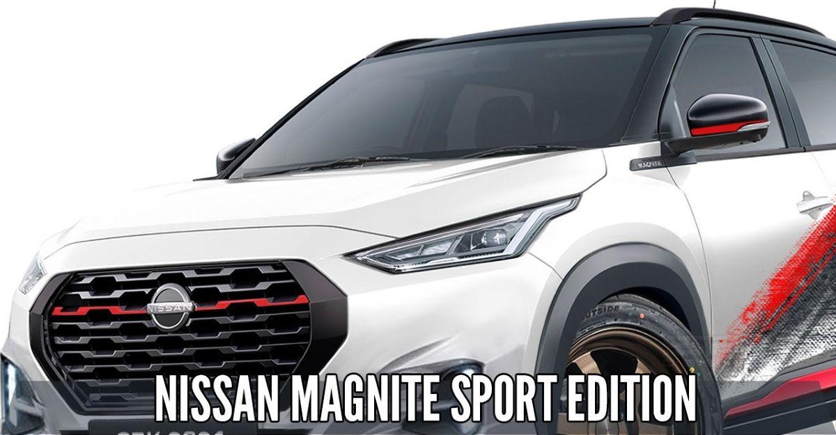 Nissan Magnite Sport Edition: यह कैसा दिखेगा