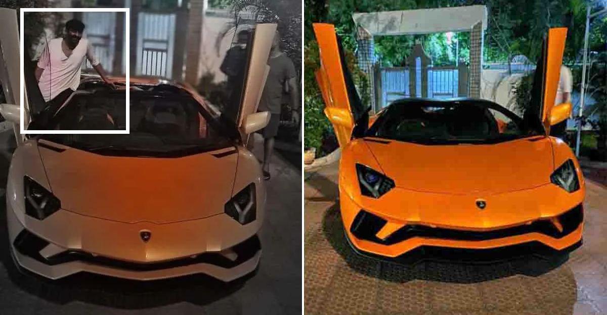 बाहुबली अभिनेता Prabhas की नवीनतम सवारी एक 5.8 Cr रु Lamborghini Aventador Roadster