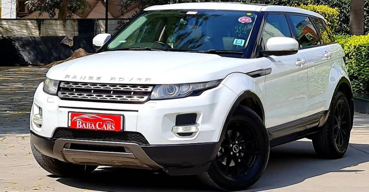 Pre-Owned Range Rover Evoque लक्जरी एसयूवी Hyundai Creta की तुलना में सस्ते में बेचीं जा रही है