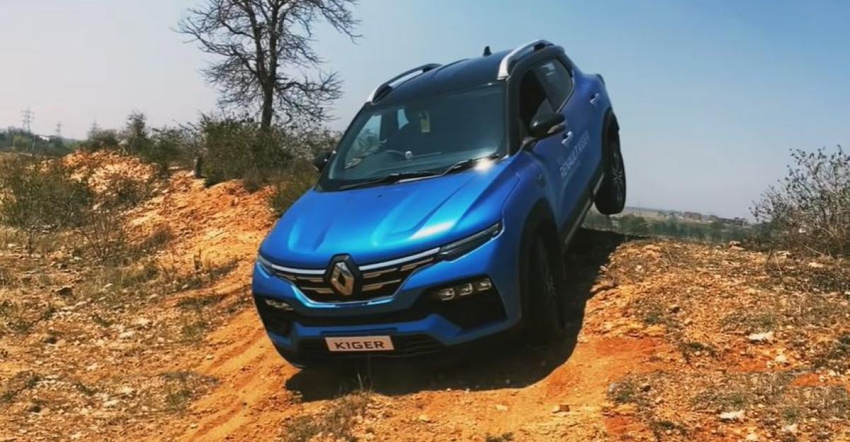 Renault Kiger ऑफ-रोडिंग जाता है: क्या यह सामना कर सकता है? [वीडियो]
