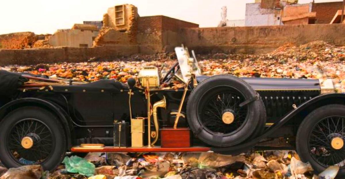 कचरा संग्रह के लिए Rolls Royce सुपर लक्जरी कारों का उपयोग करते हुए भारतीय महाराज: तथ्य या मिथक!