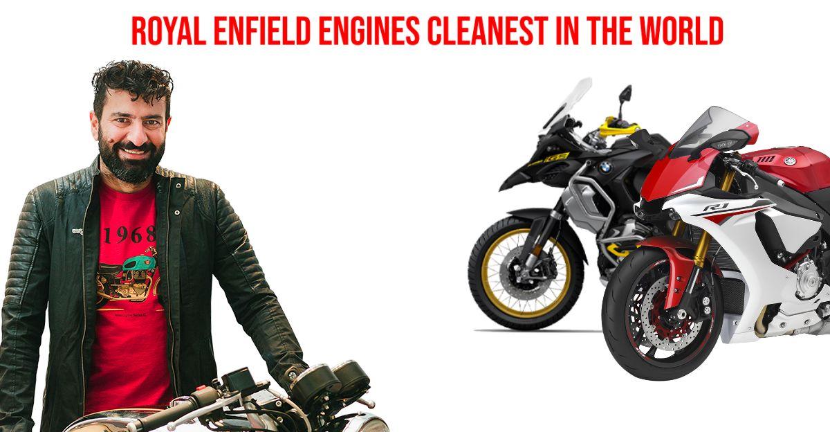 Royal Enfield का इंजन क्लीनर और एक BMW, Ducati, KTM और बाकियो द्वारा निर्मित क्लीनर: हम समझाते है
