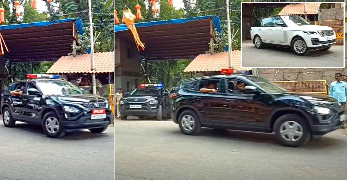 Tata Harrier SUVs अब पायलट कारों के रूप में CM Uddhav Thackeray के काफिले का नेतृत्व करती है