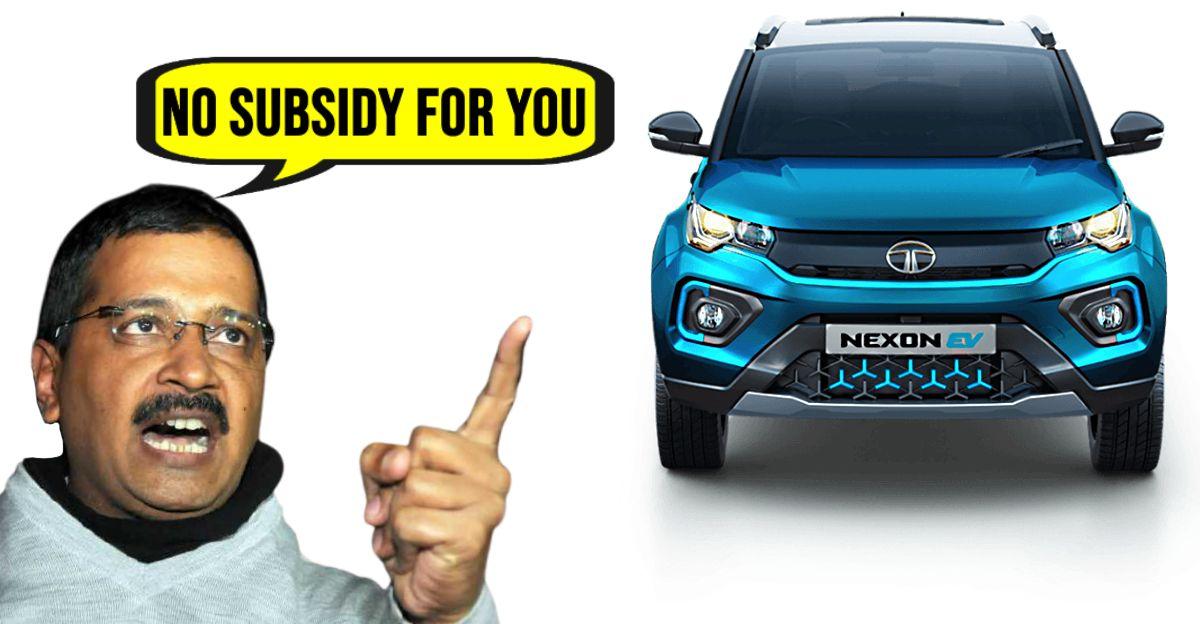 Tata Nexon EV पर सब्सिडी Government of Delhi ने 'सब-स्टैंडर्ड रेंज' के कारन रद्द कर दी