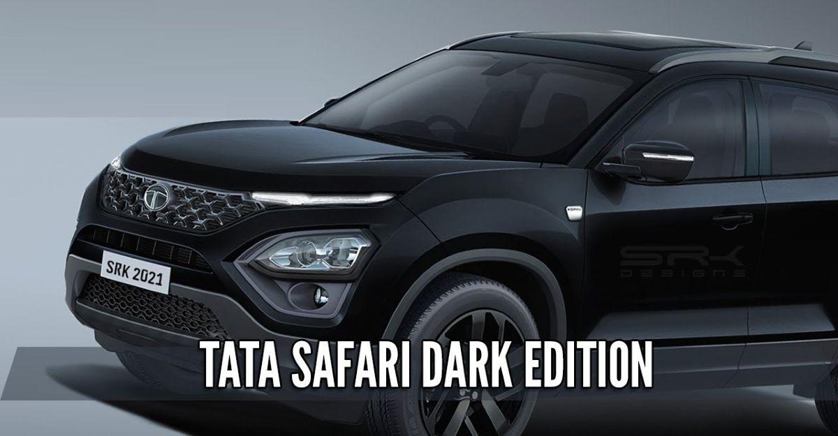 Tata Safari Dark Edition: SUV कैसा दिखेगा
