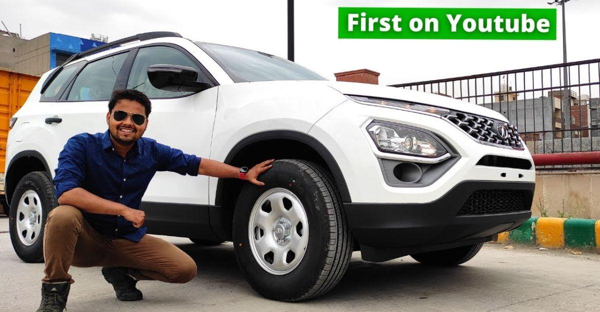 Tata Safari XE: SUV के सबसे सस्ते वेरिएंट में क्या-क्या है