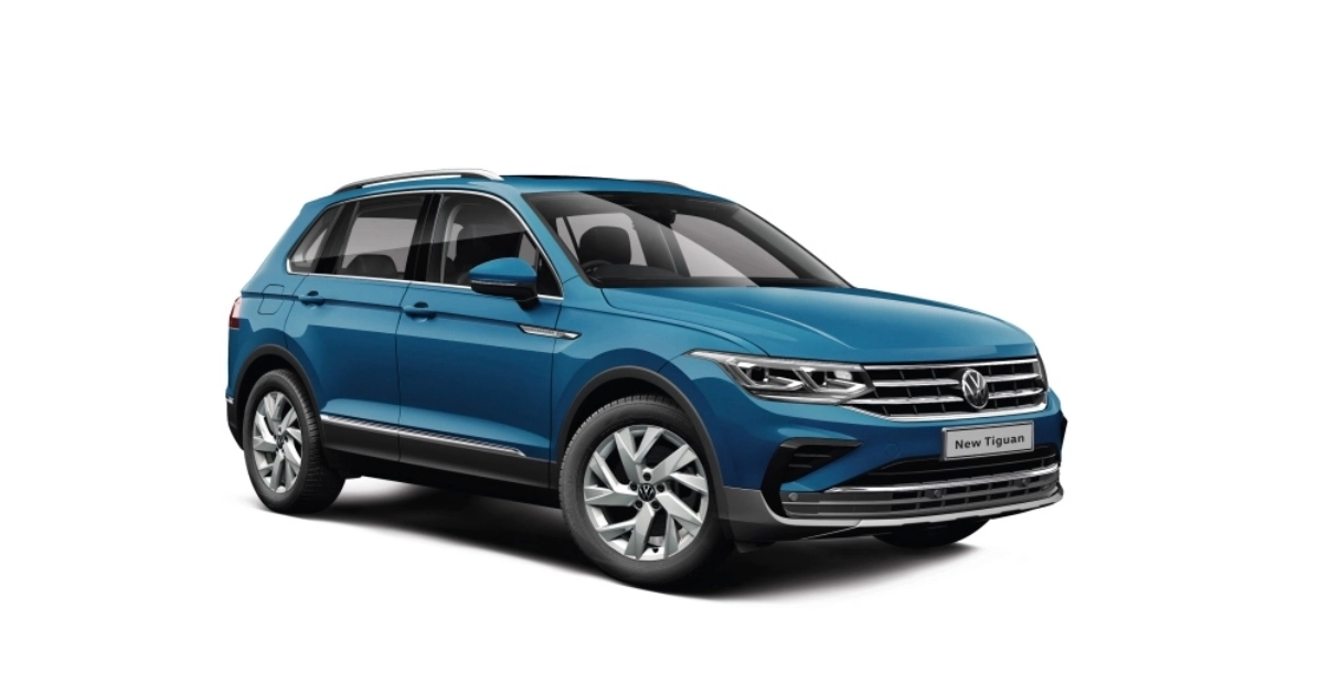 भारत के लिए नई Volkswagen Tiguan एसयूवी का खुलासा
