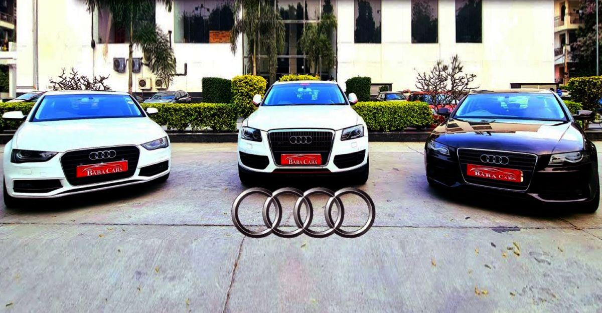 Maruti Swift की कीमत पर पूर्व स्वामित्व वाली, अच्छी तरह से रखरखाव की गई Audi कारें