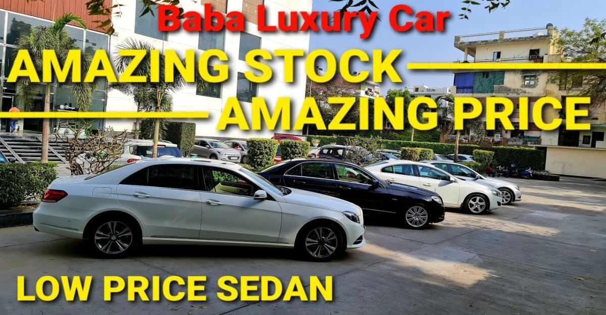 Well-Maintained Mercedes Benz & Volvo लक्जरी सेडान कॉम्पैक्ट-सेडान की कीमतों पे