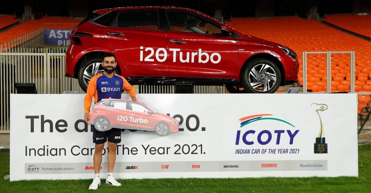 Virat Kohli ने Hyundai i20 Turbo प्रीमियम हैचबैक को 'श्रृंखला के कलाकार' के रूप में जीता