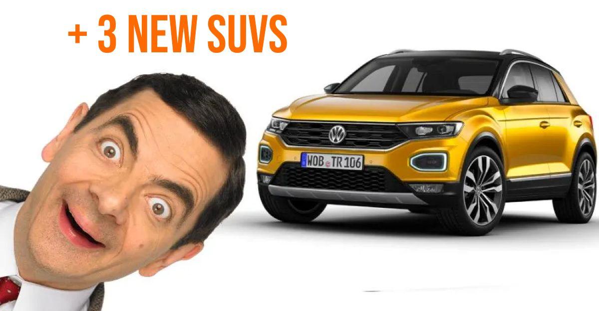 Volkswagen India ने 2021 में लॉन्च किए गए चार SUV की घोषणा की: विवरण