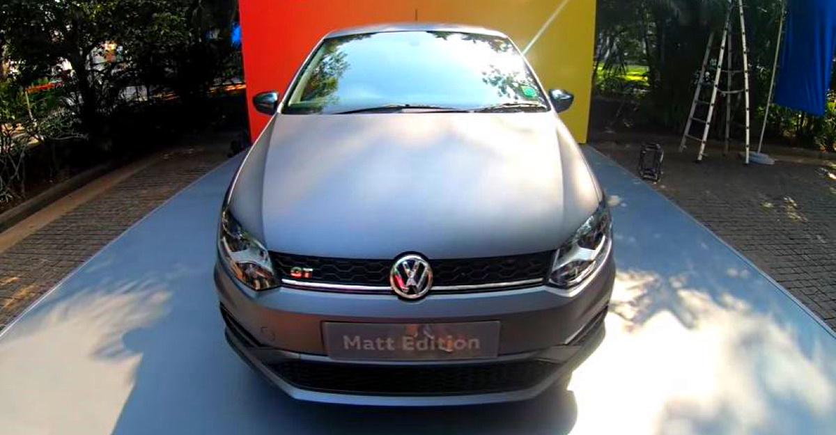 2021 Volkswagen Polo GT मैट संस्करण एक वीडियो वॉकअवे में