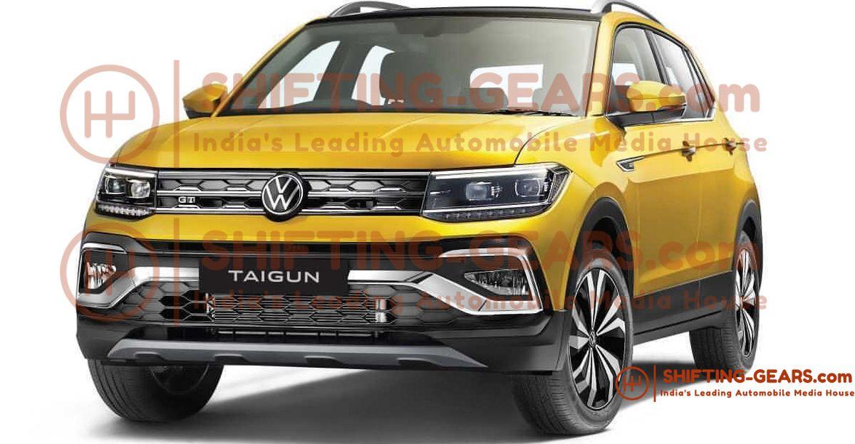 Volkswagen Taigun कॉम्पैक्ट एसयूवी का उत्पादन संस्करण आधिकारिक घोषणा से पहले लीक हो गया