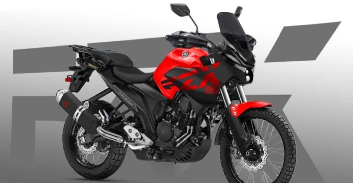Yamaha FZ-X Adventure मोटरसाइकिल: यह कैसा दिखेगा