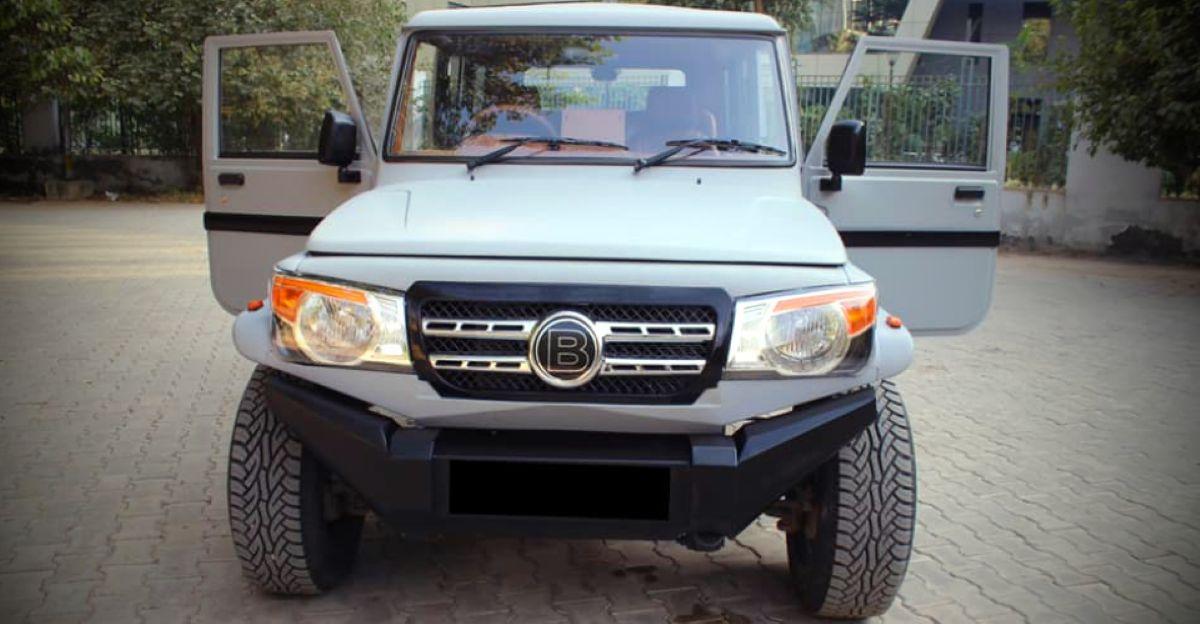 Mahindra Bolero एक Mercedes-Benz Brabus G-Class की तरह दिखने के लिए संशोधित किया गया