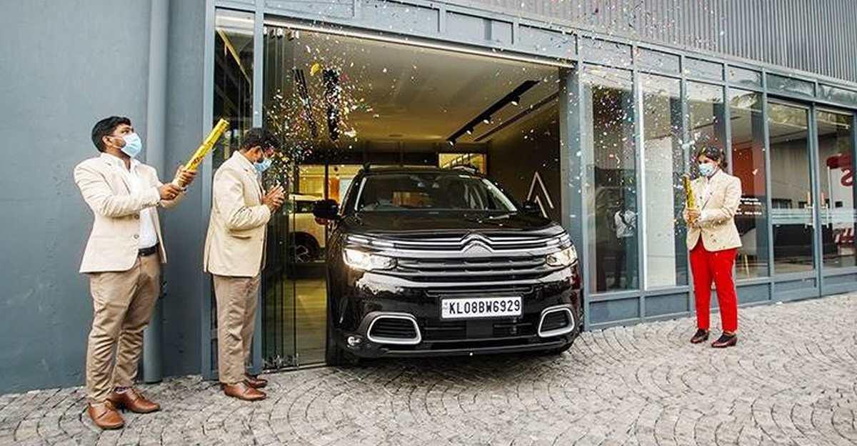 Citroën ने C5 AirCross SUV की डिलीवरी शुरू की