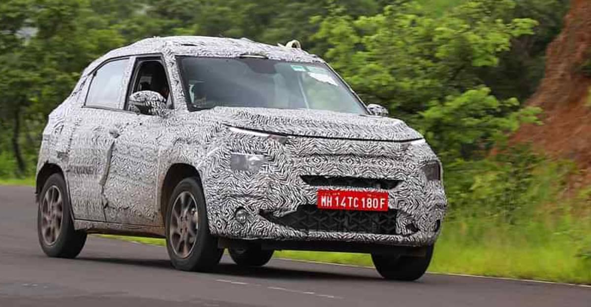 Tata Hornbill HBX का Interiors माइक्रो SUV के आधिकारिक लॉन्च से पहले SPIED