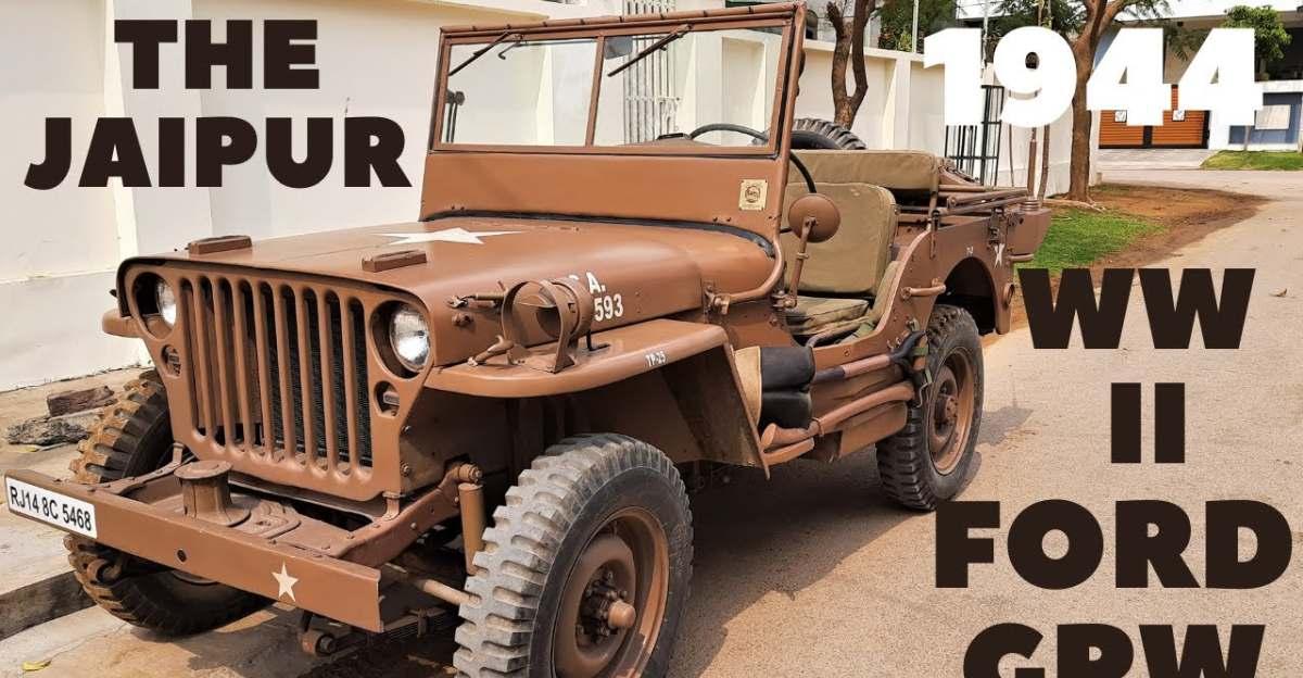 असली 1944 WWII Ford GPW भारत में पुनः स्थापित [Video]