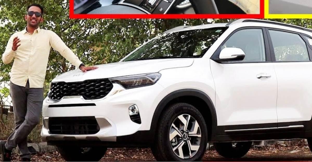 2021 Kia Sonet Compact SUV वीडियो पर बिस्तार से
