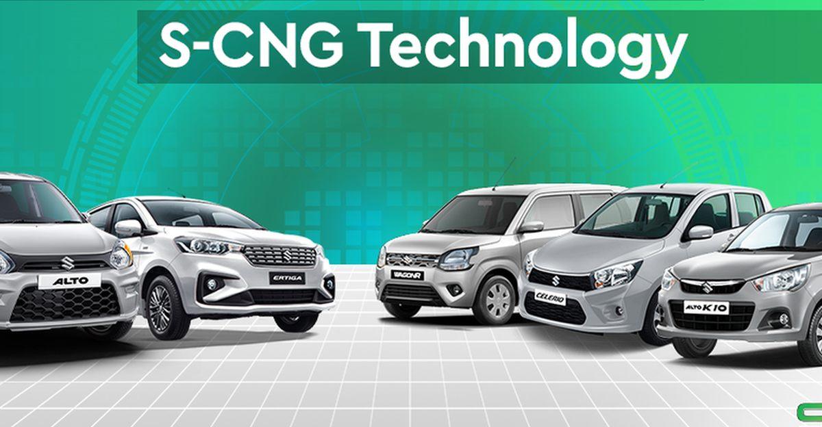 वित्त वर्ष 2021 में Maruti Suzuki S-CNG वाहनों की बिक्री करती है