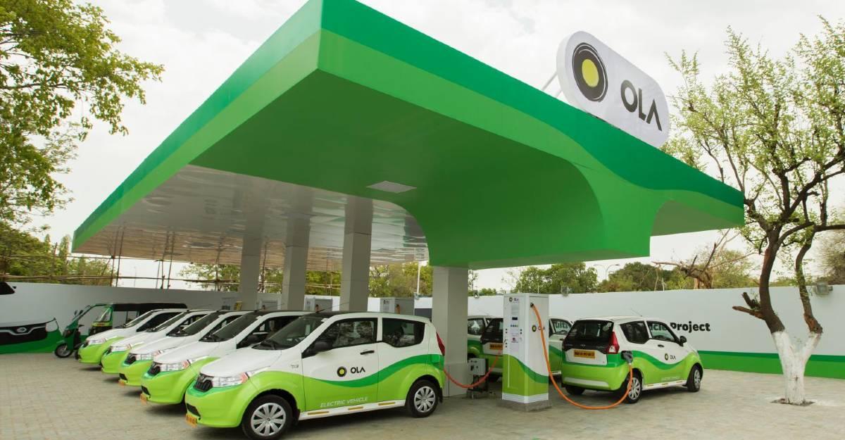 Ola भारतीय बाजार में इलेक्ट्रिक कारों को लॉन्च करने वाली है