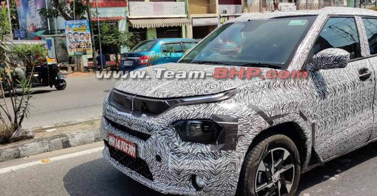 Tata Hornbill HBX माइक्रो SUV का प्रोडक्शन वर्जन SPIED