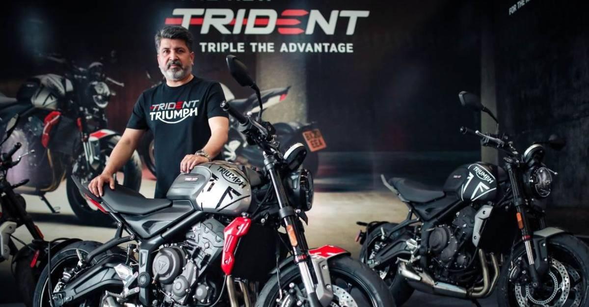 भारत में लॉन्च हुआ Triumph Trident 660; कीमत 6.95 लाख रुपये