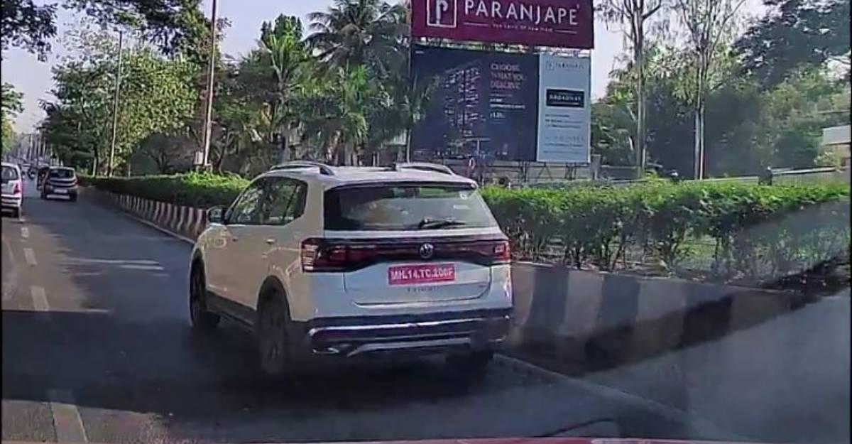 Volkswagen Taigun कॉम्पैक्ट एसयूवी ने भारत में लॉन्च से पहले परीक्षण किया
