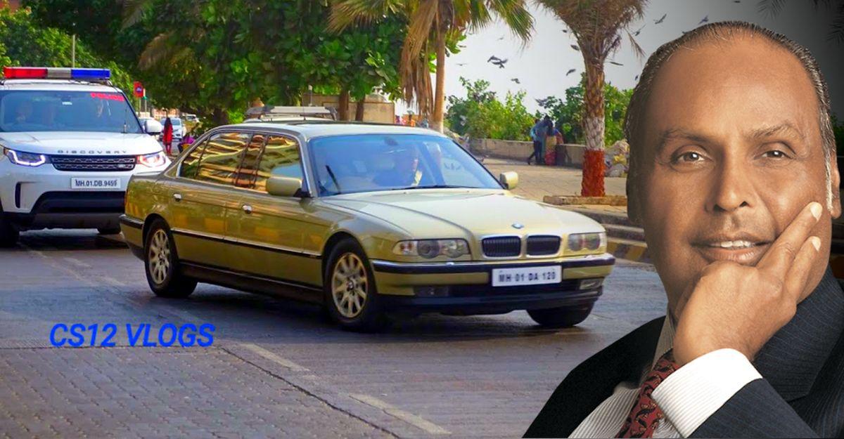 धीरूभाई Ambani की BMW 750i XL L7 की दुर्लभ तस्वीरे Limousine की तरह लम्बी: वीडियो + अनदेखी तस्वीरें