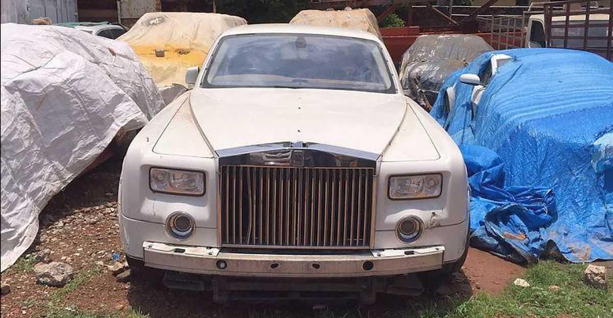 भारत में त्यागी हुई 5 Rolls Royce सुपर लक्जरी सेडान