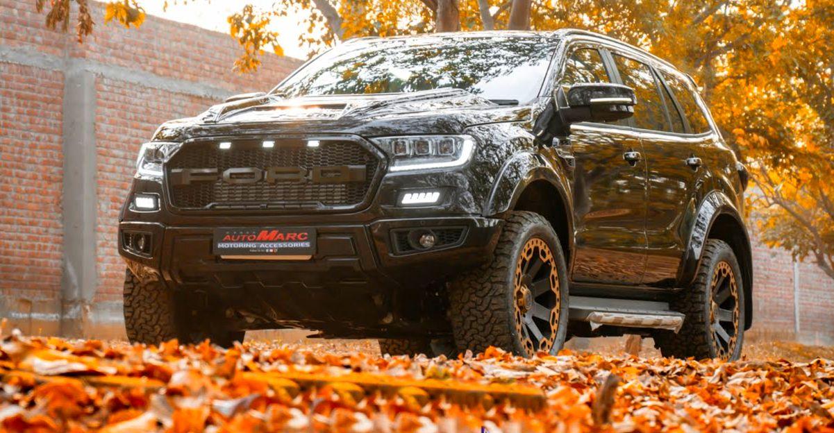 संशोधित Ford Endeavour Luxury SUV शानदार दिखती है [Video]