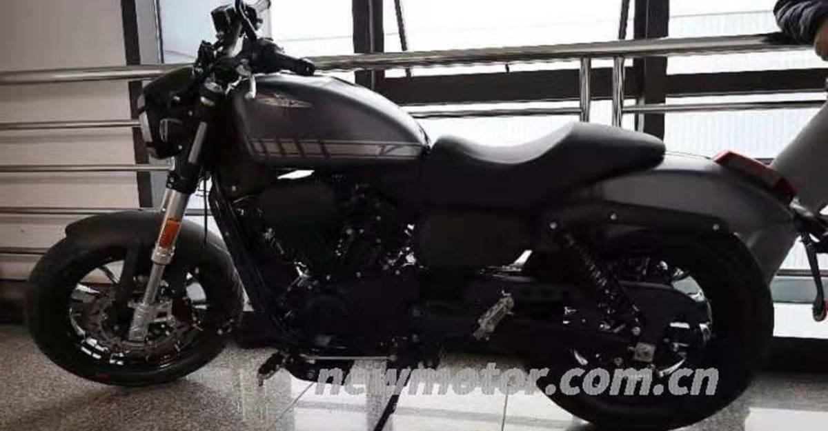 300cc Harley Davidson: Royal Enfield प्रतिद्वंद्वी की पहली तस्वीरें