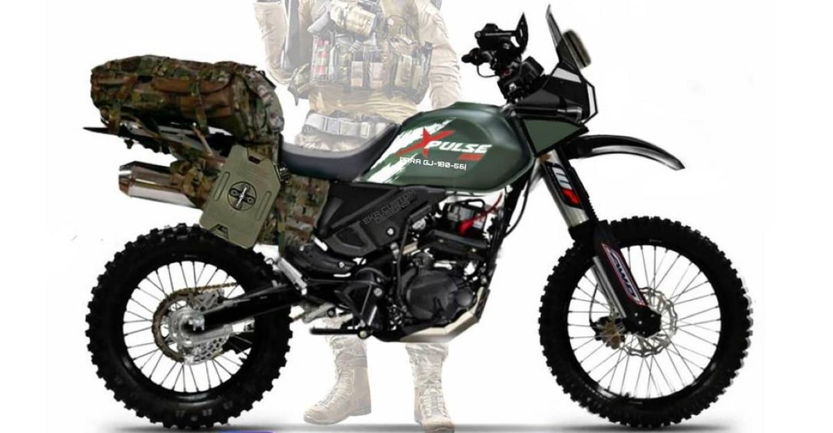 Hero Xpulse 200 सेना संस्करण भारतीय सेना के लिए एकदम सही होना चाहिए